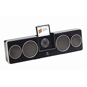 Pure-Fi Anywhere 2 Compact Docking Speakers for iPod and iPhone (Black)