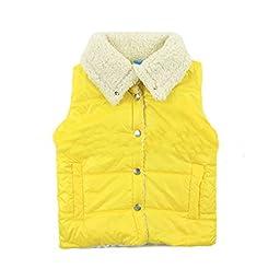 Bnspl Children\'s Candy Color Sleeveless Cashmere Cardigan Vest
