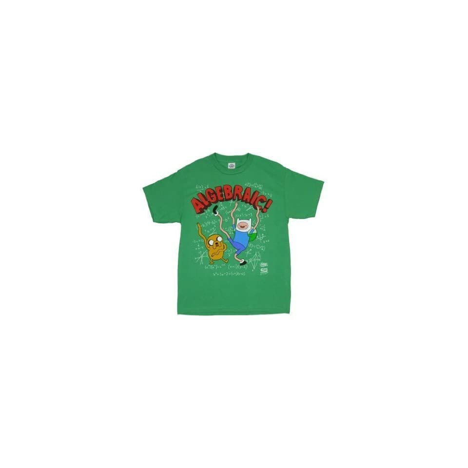aade9337d4d Adventure Time Algebraic Finn And Jake T shirt by Changes on PopScreen