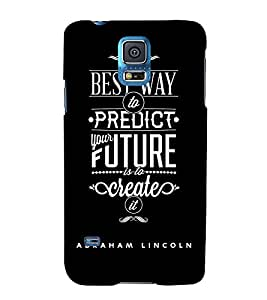 Fuson Premium Printed Hard Plastic Back Case Cover for Samsung Galaxy S5
