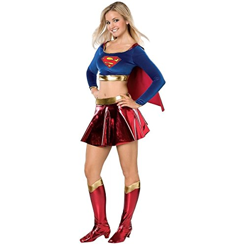 GSG Supergirl Costume Kids Supergirl Superwoman HeroHalloween Fancy Dress (Superwoman Costume For Toddler)