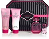 Victoria's Secret Bombshell Perfume Gift Set includes 1.7 oz Perfume .25 oz mini perfume Body Lotion and Wash