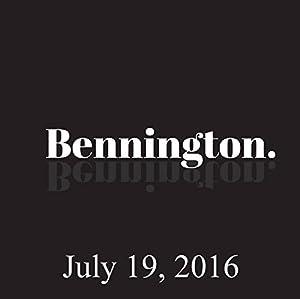 Bennington, July 19, 2016 Radio/TV Program