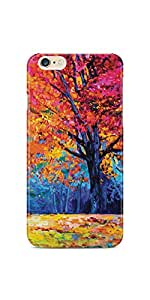Casenation Autumn Tree Painting iPhone 6 Plus Glossy Case