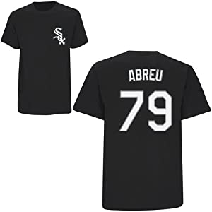 Jose Abreu Chicago White Sox Adult Name & Number Player T-Shirt Jersey