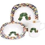 Portmeirion The Very Hungry Caterpillar 3 Piece Plate Bowl & Mug Set