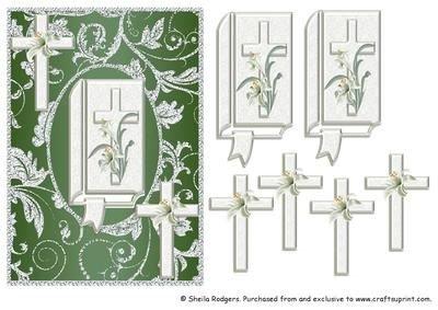 Heiligen Bibel Trauerkarte 10 von Sheila Rodgers