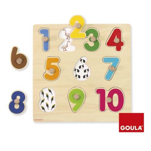 Goula 53074 - Puzzle Numeri -  - ebay.it