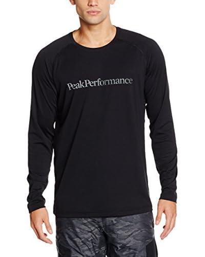 Peak Performance Camiseta Manga Larga Gallos Ls Negro