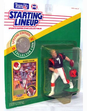 Special Edition Collector Coin Boomer Esiason 4 inch Action Figure - 1
