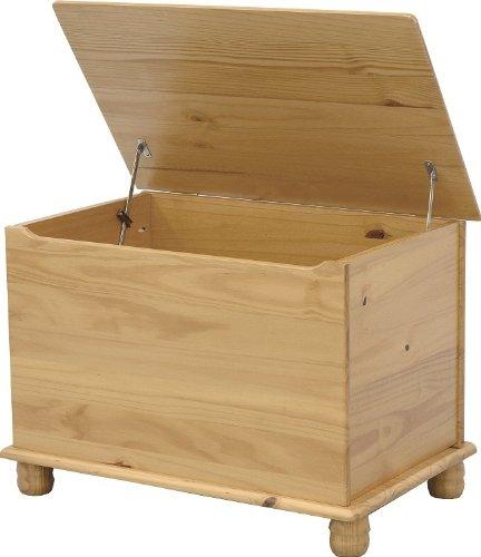 Barato direct place ba l para juguetes acabado de pino for Baul madera barato