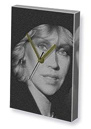 AGNETHA FALTSKOG - Canvas Clock (A4 - Signed by the Artist) #js001