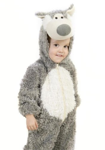 [Big Bad Wolf Costume - Baby 18-24] (Big Bad Wolf Outfit)