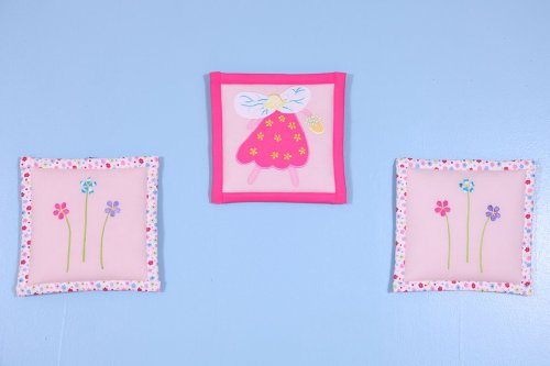 Fairy Land 3 pc Wall Hanging Set
