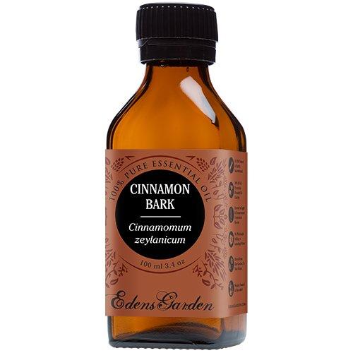 Cinnamon Bark 100% Pure Therapeutic Grade Essential Oil by Edens Garden- 100 ml