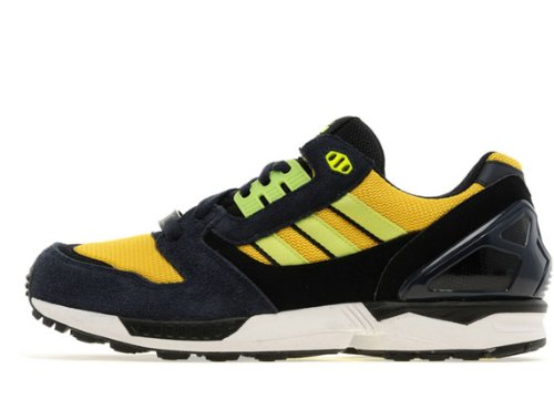 Adidas(アディダス) ZX 8000 UK限定,Legend Ink/Electric Yellow/White