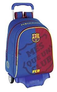 Sac à roulettes FC Barcelone bleu 43 CM Haut de Gamme