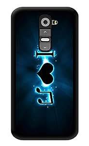 "Humor Gang I Love Music Printed Designer Mobile Back Cover For ""LG G2"" (3D, Glossy, Premium Quality Snap On Case)"