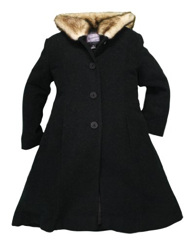 Women's Fox Fur Coats: Cheap Rothschild Kids Coat Girls Wool