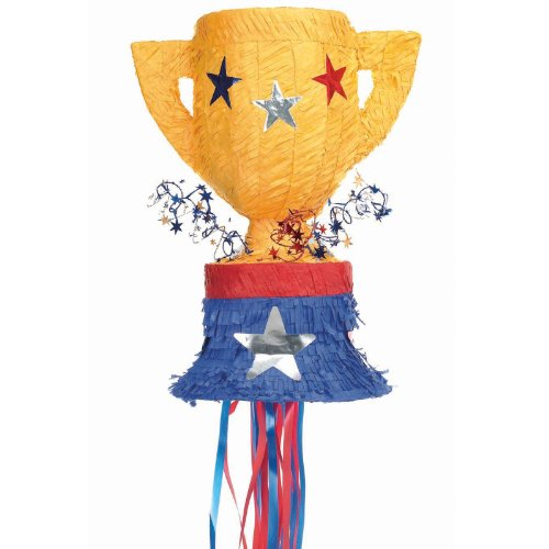 Trophy Pull String Pinata Party Accessory