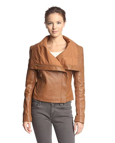 6 Shore Road Women's Chloe Leather Moto Jacket