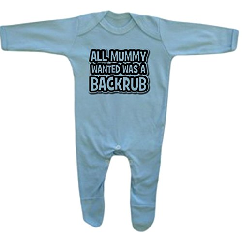 Baby Boy's All Mummy Wanted Funny Rompersuit