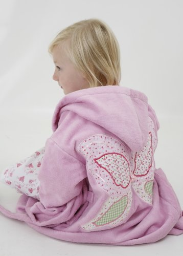 PINK FAIRY DRESSING GOWN WITH FAIRY WING APPLIQUE 4-6 YRS