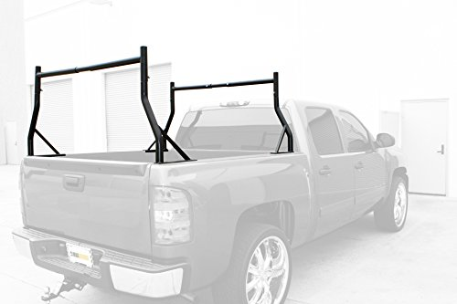 MaxxHaul 70386 Black Adjustable Pick-Up Truck Rack (Truck Racks For Ladders compare prices)