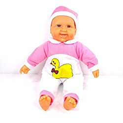 Env Toys Cute Happy Baby Doll Face Turns Red When Baby Doll Laughs Battery Operated Brand New