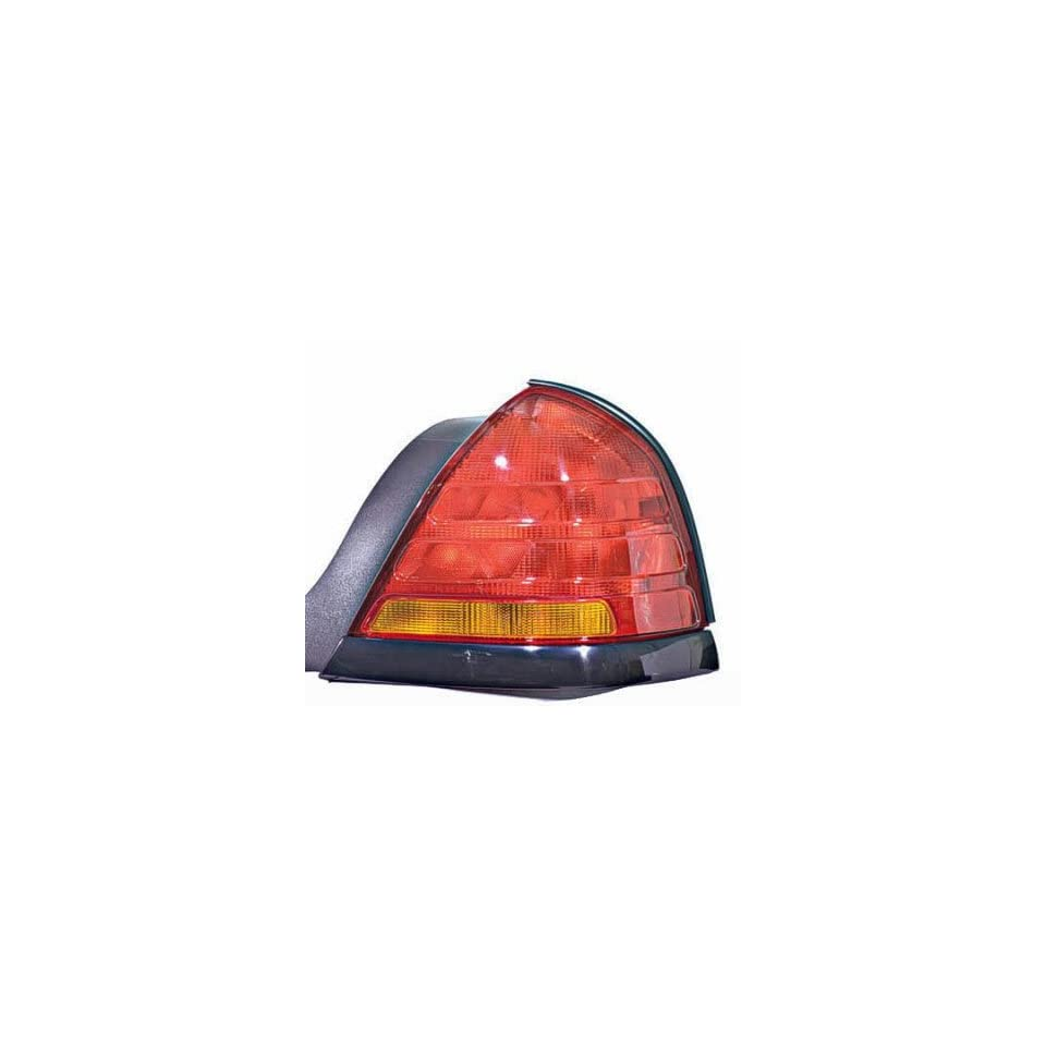 PASSENGER SIDE TAIL LIGHT Ford Crown Victoria ASSEMBLY; RH; BLACK with SPORT