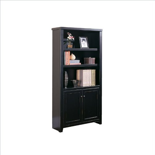 Tribeca Loft Bookcase  Doors (Black) (70