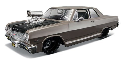 1965-chevrolet-malibu-ss-grey-classic-muscle-1-24-by-maisto-31138-by-chevrolet