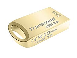 Transcend JetFlash 510 32GB Pen Drive (Gold)