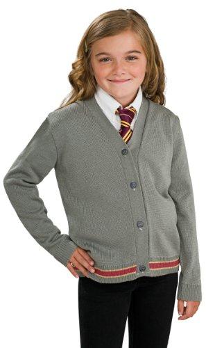 Harry Potter Hermione Granger Hogwarts Cardigan and Tie Costume - Medium