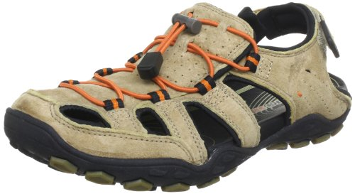 Skechers Pebble Viktor Sandals Men brown Braun (SAND) Size: 9 (43 EU)