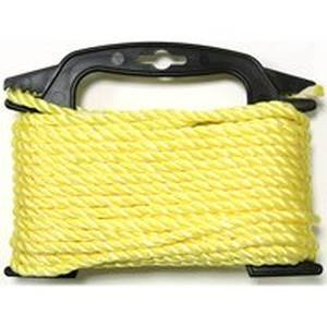 SecureLine PT450Y-4W  1/4X50-Feet Yellow Twisted