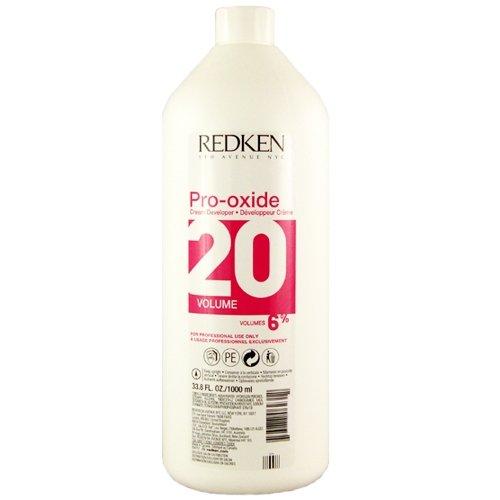 Redken Pro-Oxide Cream Developer 20 Vol 6% 33.8 oz (1 Liter)