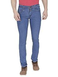 BLACKCITY Denim Light Blue Regular Fit Jeans