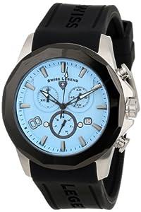 Swiss Legend 10042-012-BB - Reloj de pulsera hombre, caucho, color negro