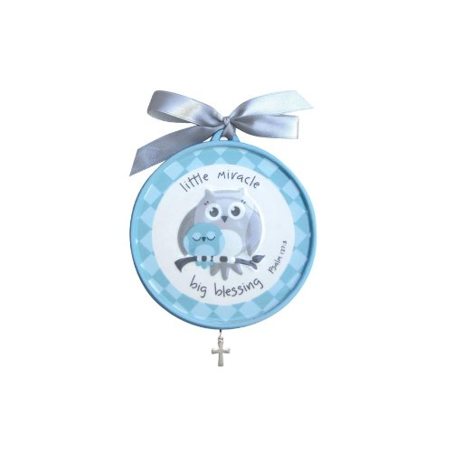 Gg-grow In Grace Crib Medallion-lmbb-blue