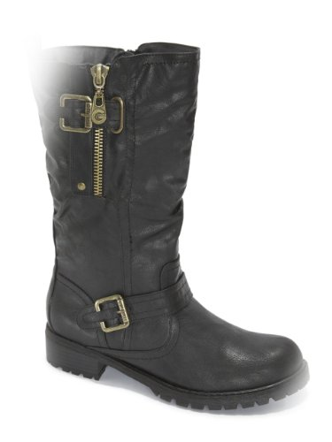 G by GUESS Womens Yvone Mid-Calf Boot