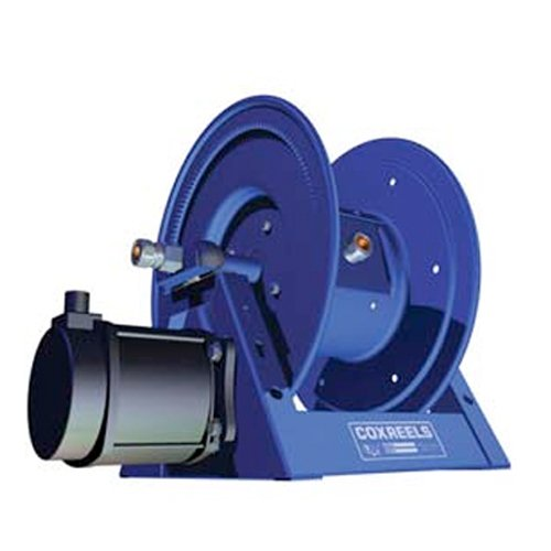 Coxreels 1125Pcl-8M-Ed Electric 12V Dc Explosion Proof 1/2Hp Motor Rewind Hose Reel: 12 Awg, 3 Conductors, 250' Cord Capacity, Less Cord, 600V, 45 Amps