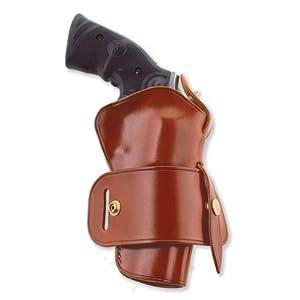 Galco Wheelgunner Belt Holster for S&W N FR .44 Model 29/629 4-Inch (Tan, Ambi)