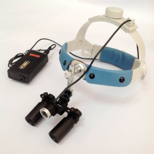 6X Headband Dm600 Binocular Medical Surgical Loupes With Led Medical Headlight For Brain Surgery,Vascular Anastomosis