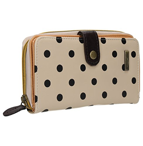Pauline Polka Dot Pastel Girls Wallet Purse in