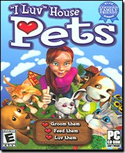 New Game Mill Publishing I Luv House Pets W/ 1000s Incredible Options No Mess To Clean Up After