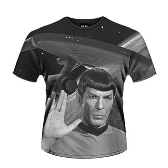 Official T Shirt STAR TREK Vulcan SPOCK AO Vintage Enterprise S