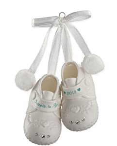 Parents To Be Booties 2012 Carlton Heirloom Ornament