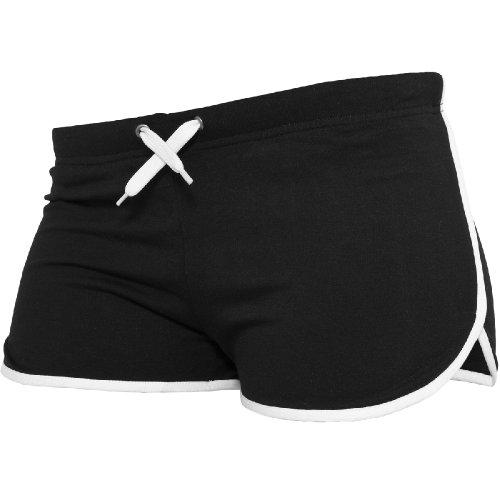 Urban Classics -  Pantaloncini sportivi  - Uomo noir-blanc 42