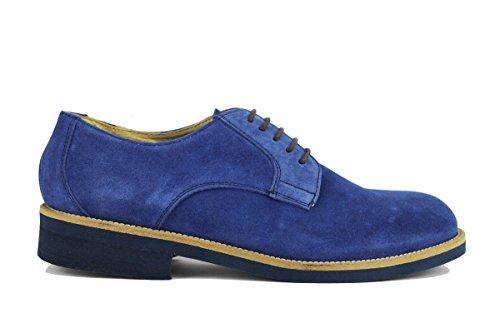 MARECHIARO 1962 AH600 classiche uomo camoscio blu (45 EU)
